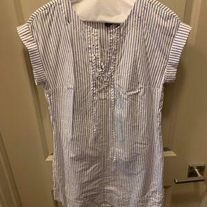J.Crew pinstripe dress